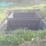 Pose des drains et implantation des barres de renfort
